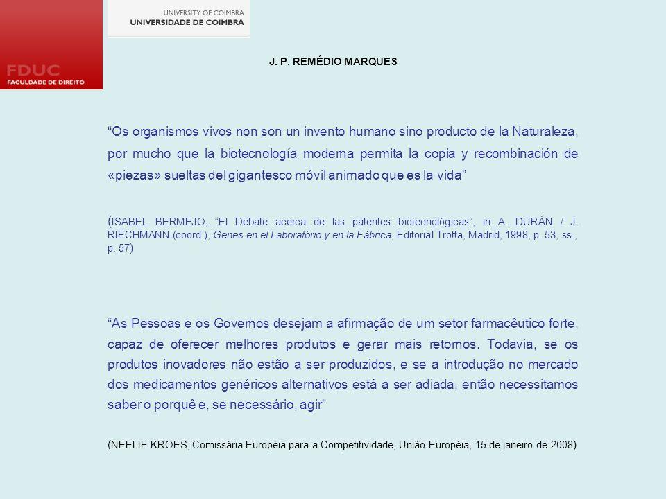 J. P. REMÉDIO MARQUES