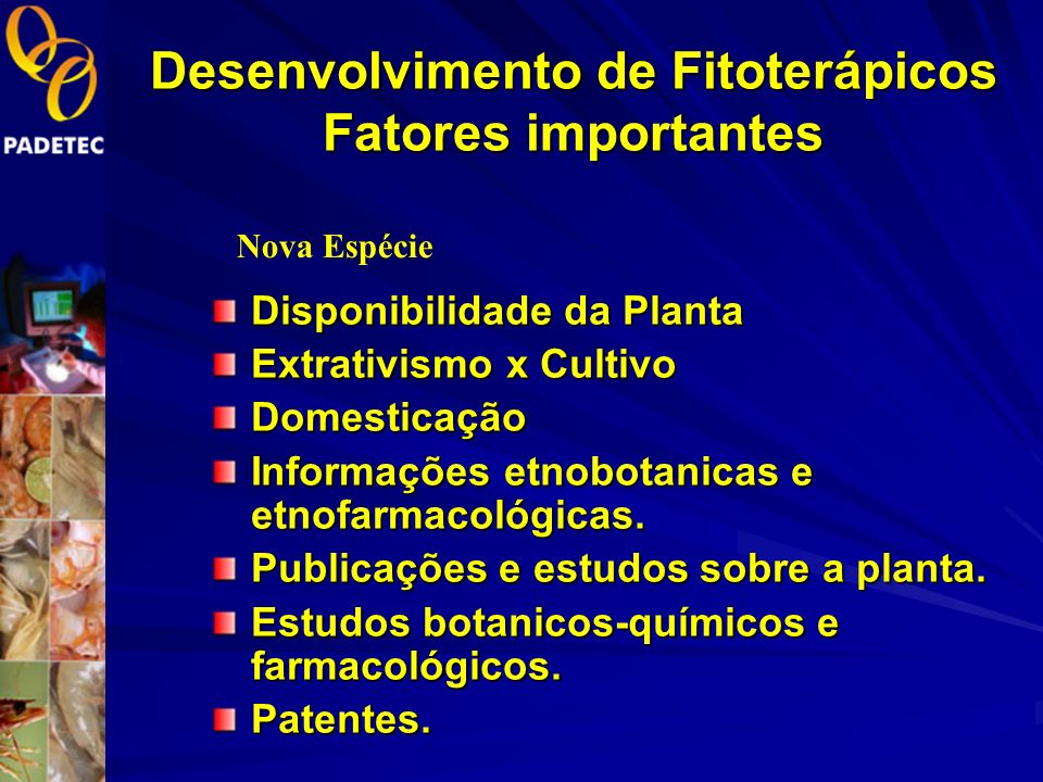 Desenvolvimento de Fitoterápicos Fatores importantes