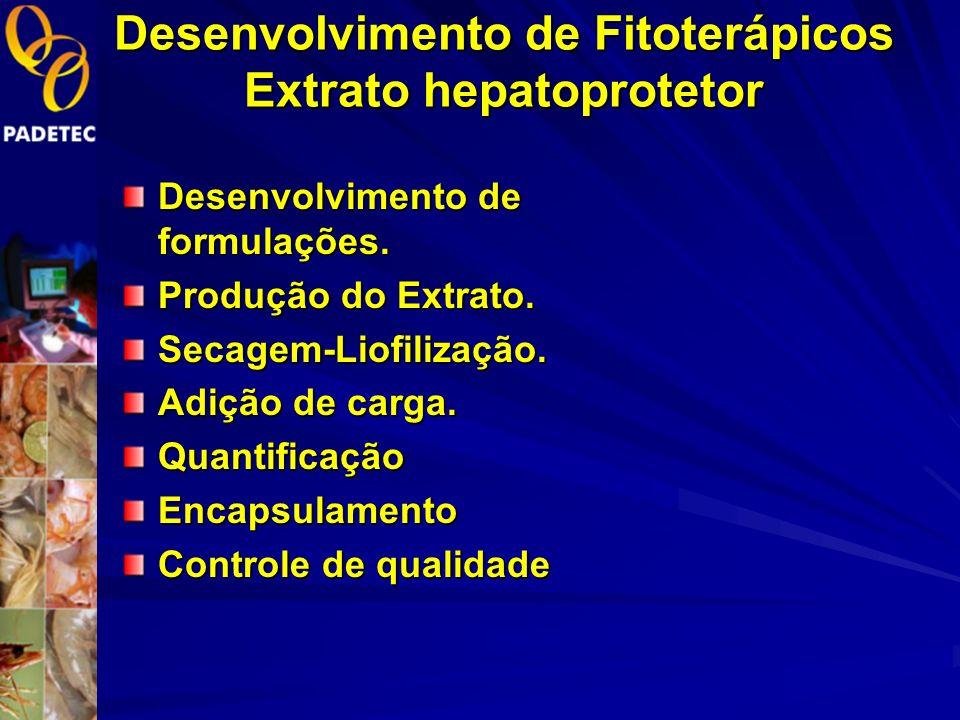 Desenvolvimento de Fitoterápicos Extrato hepatoprotetor
