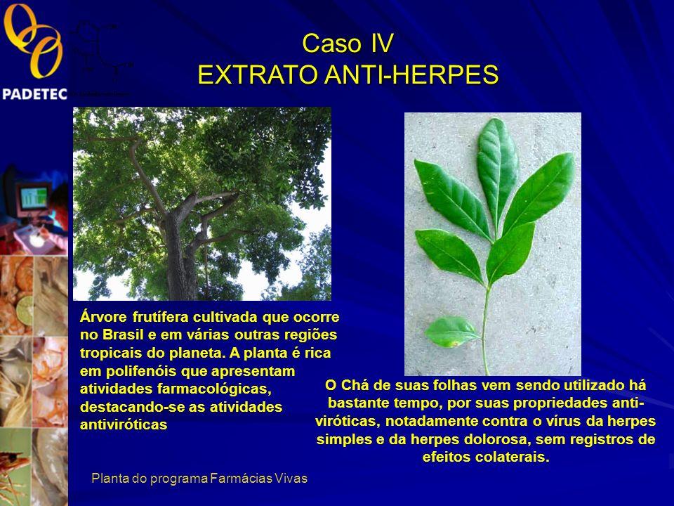 Caso IV EXTRATO ANTI-HERPES