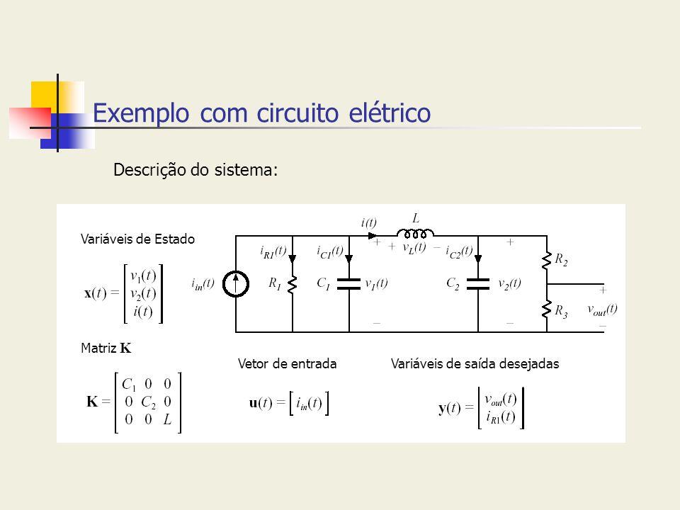 Exemplo com circuito elétrico