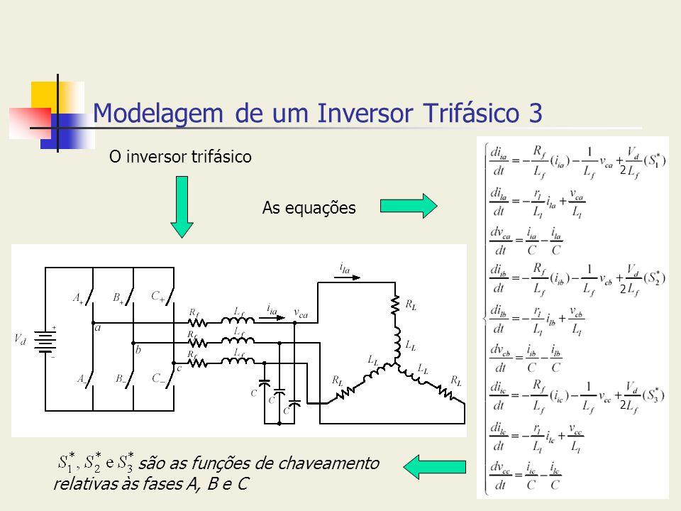 Modelagem de um Inversor Trifásico 3
