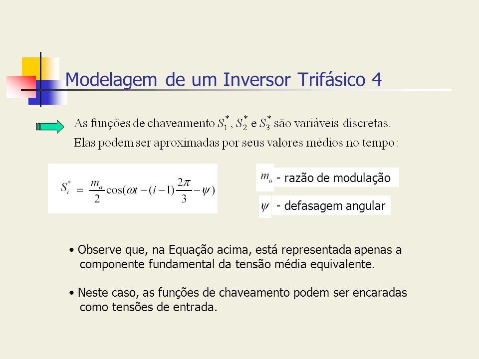 Modelagem de um Inversor Trifásico 4