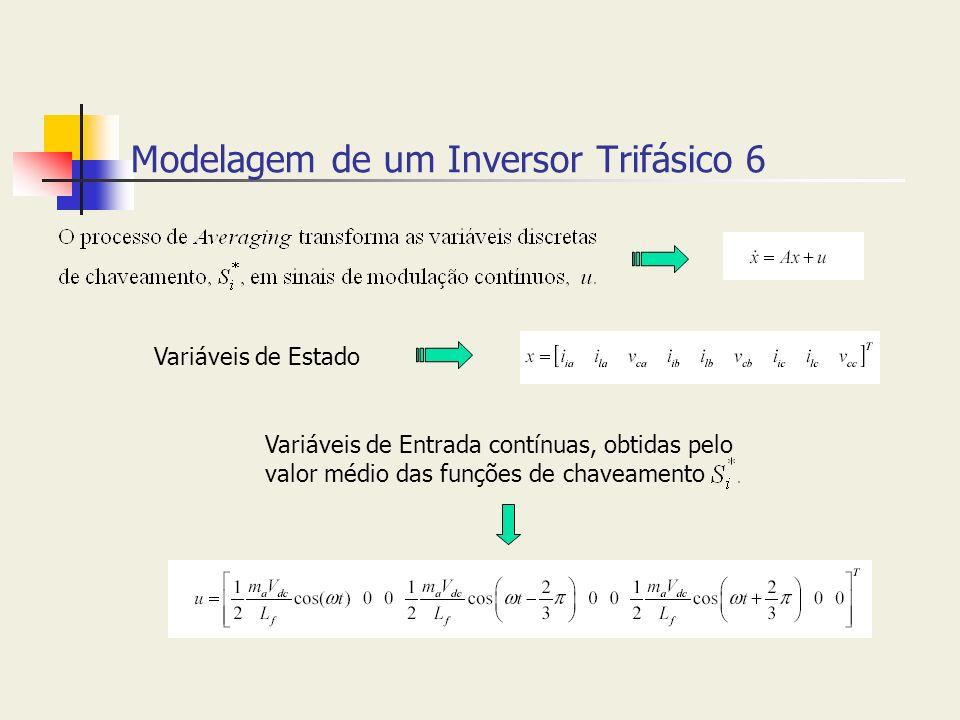 Modelagem de um Inversor Trifásico 6