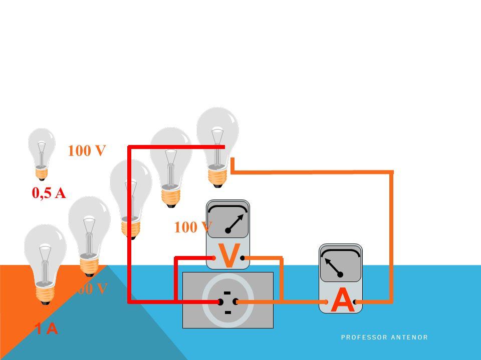0,5 A 100 V V A 100 V 100 V 1 A Professor Antenor