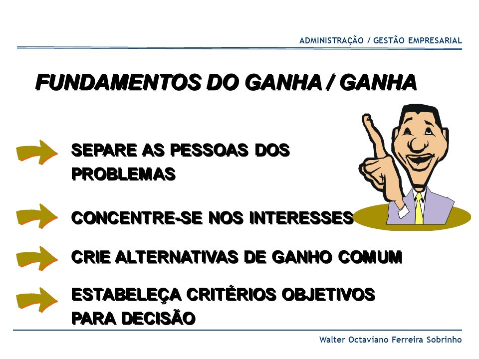 FUNDAMENTOS DO GANHA / GANHA
