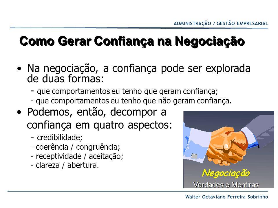 Como Gerar Confiança na Negociação