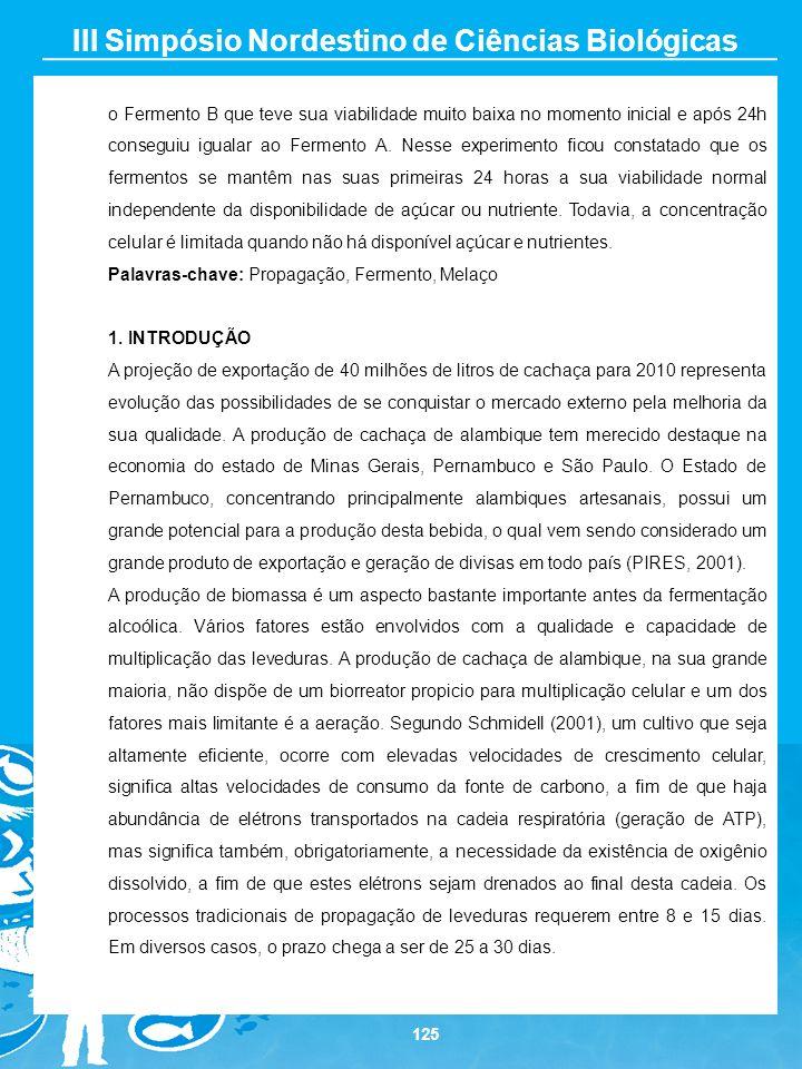 III Simpósio Nordestino de Ciências Biológicas
