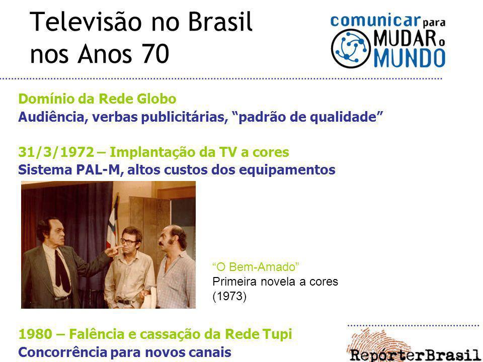 Televisão no Brasil nos Anos 70