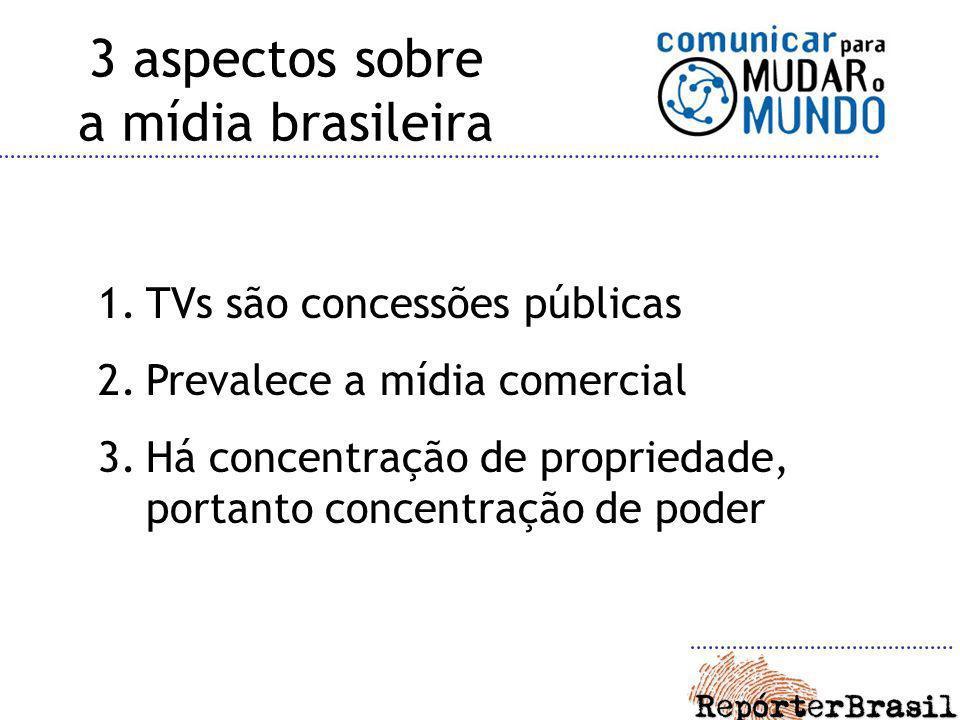 3 aspectos sobre a mídia brasileira