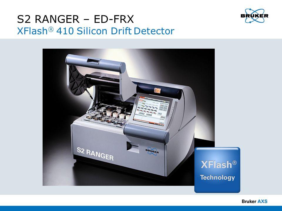 S2 RANGER – ED-FRX XFlash® 410 Silicon Drift Detector