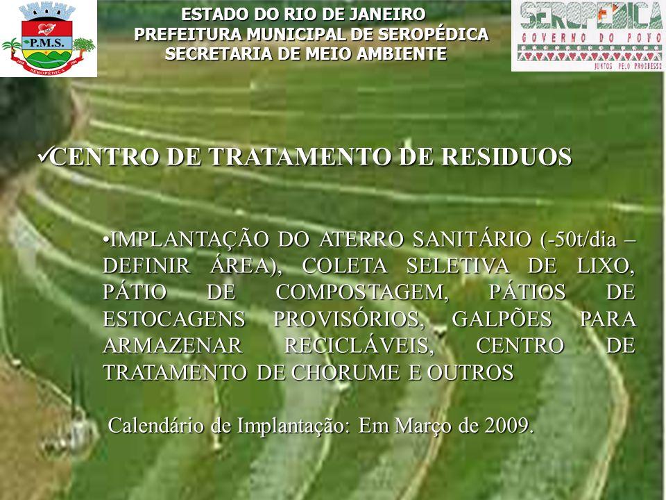 CENTRO DE TRATAMENTO DE RESIDUOS