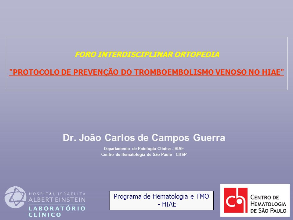 Dr. João Carlos de Campos Guerra