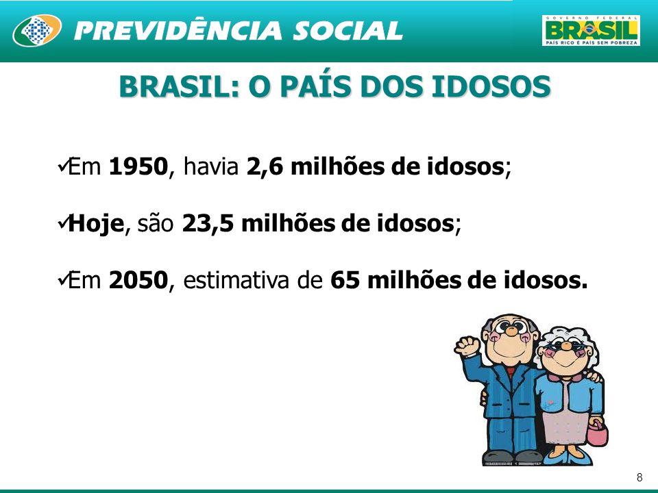 BRASIL: O PAÍS DOS IDOSOS