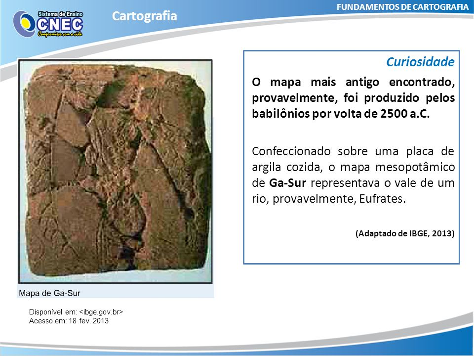 FUNDAMENTOS DE CARTOGRAFIA