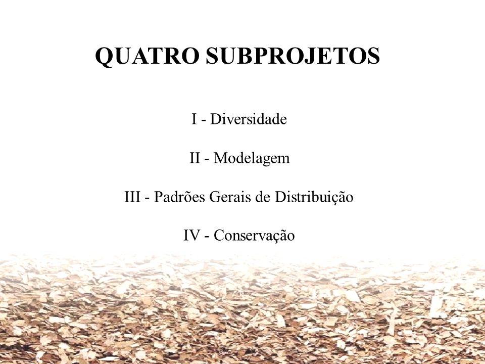 III - Padrões Gerais de Distribuição
