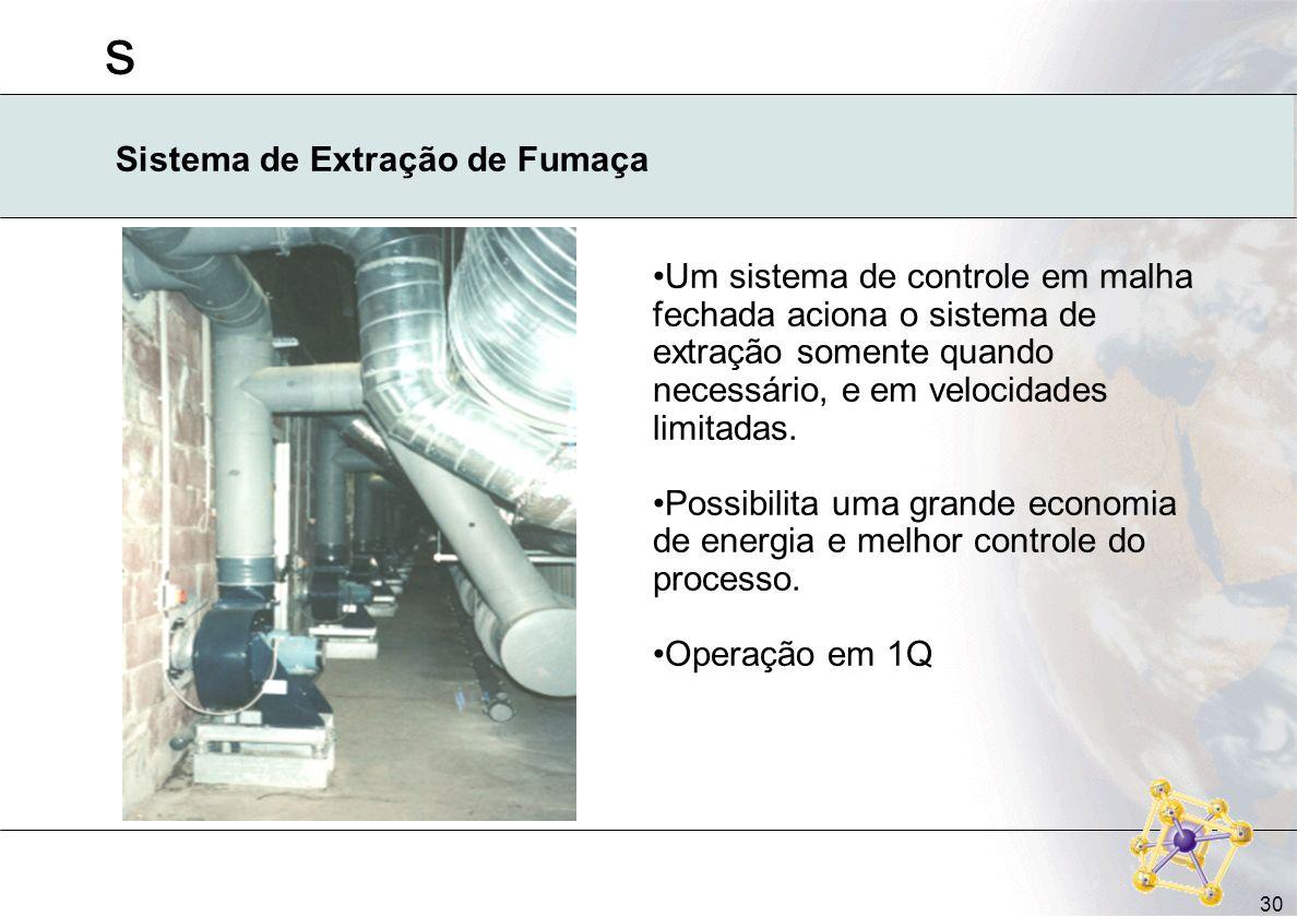 Sistema de Extração de Fumaça