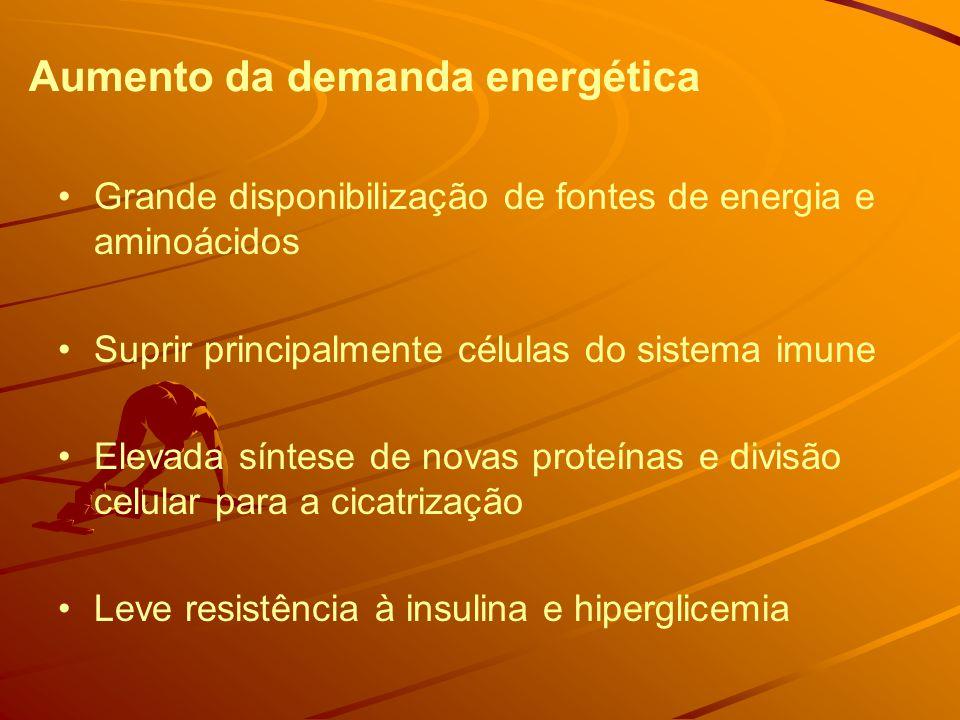 Aumento da demanda energética