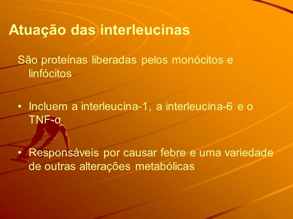 Atuação das interleucinas