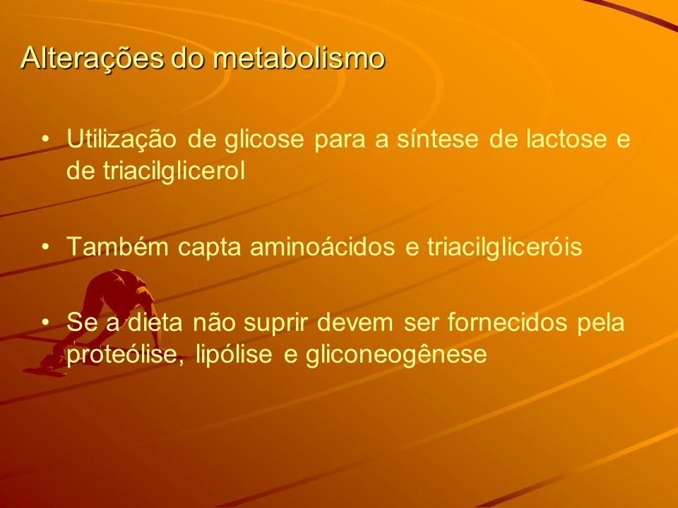 Alterações do metabolismo