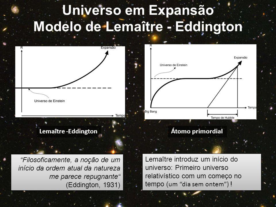 Modelo de Lemaître - Eddington