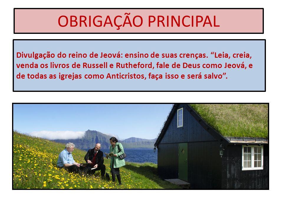 OBRIGAÇÃO PRINCIPAL