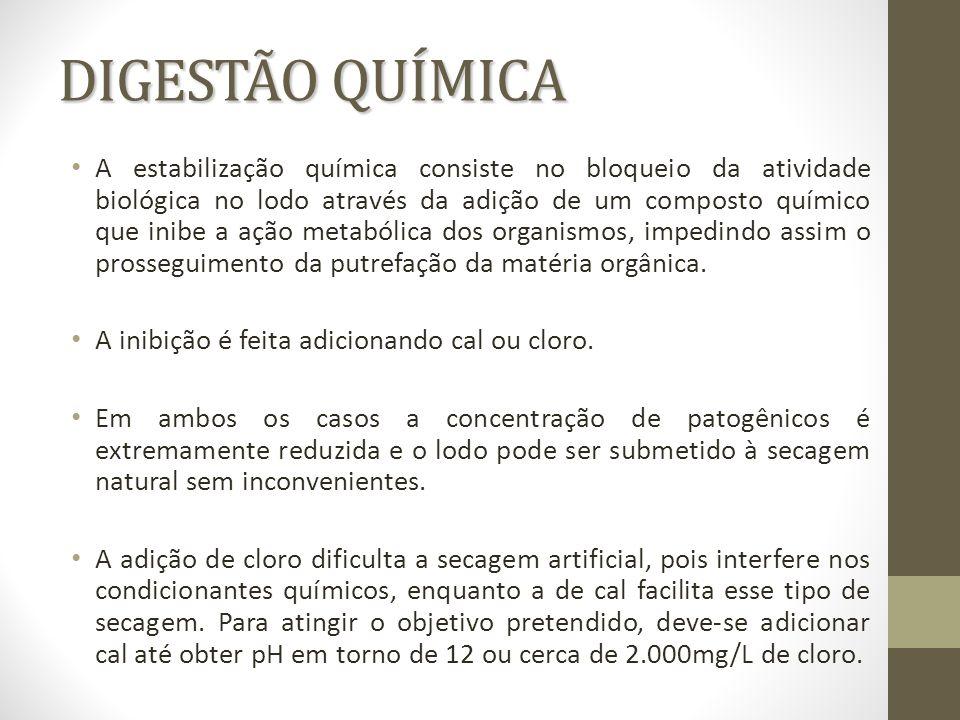 DIGESTÃO QUÍMICA