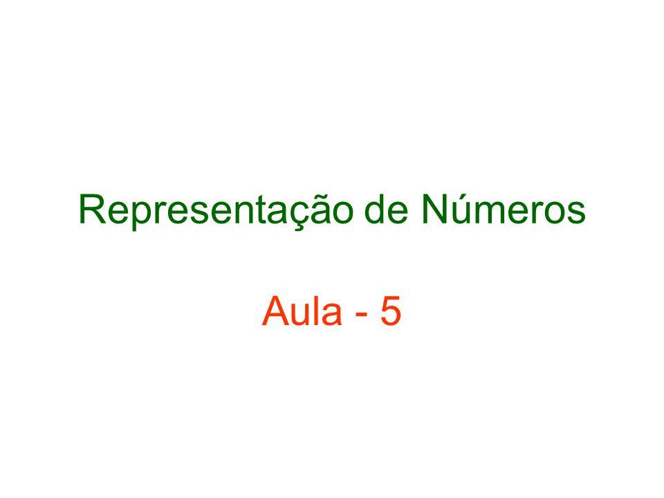 Representação de Números