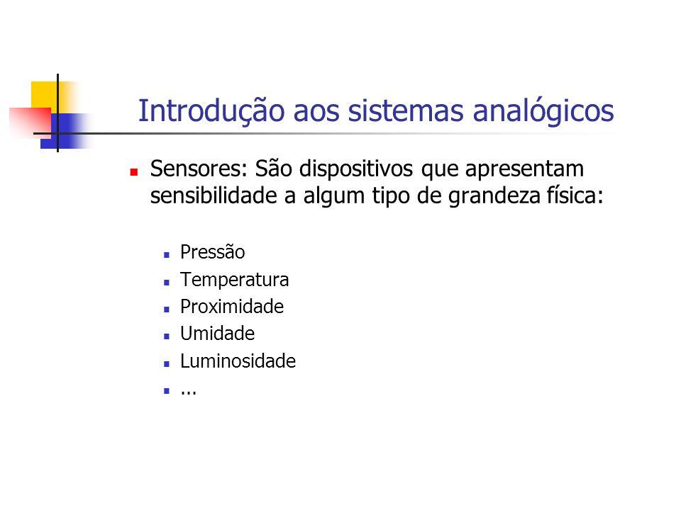 Introdução aos sistemas analógicos