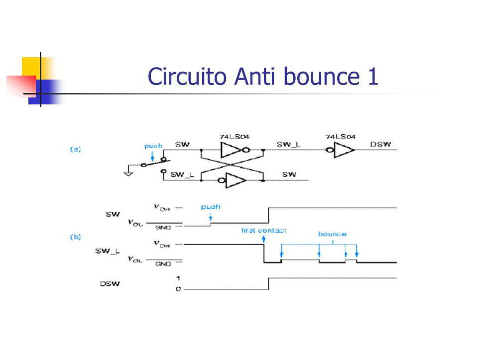 Circuito Anti bounce 1