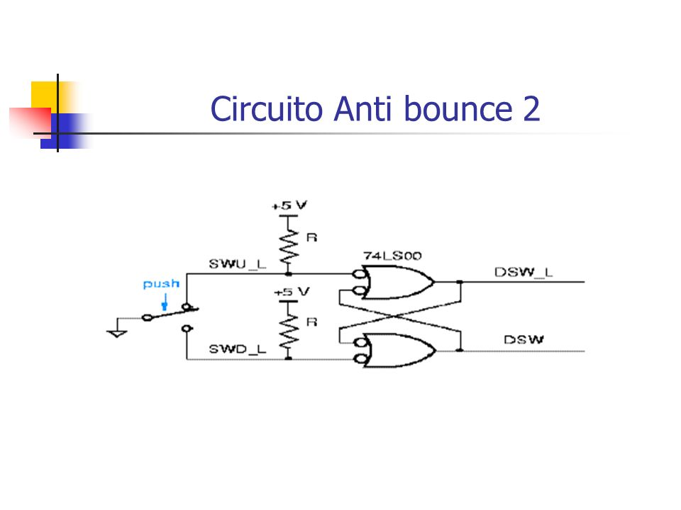Circuito Anti bounce 2