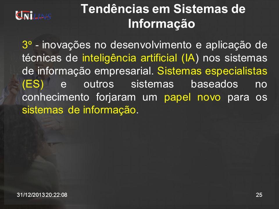 Tendências em Sistemas de Informação