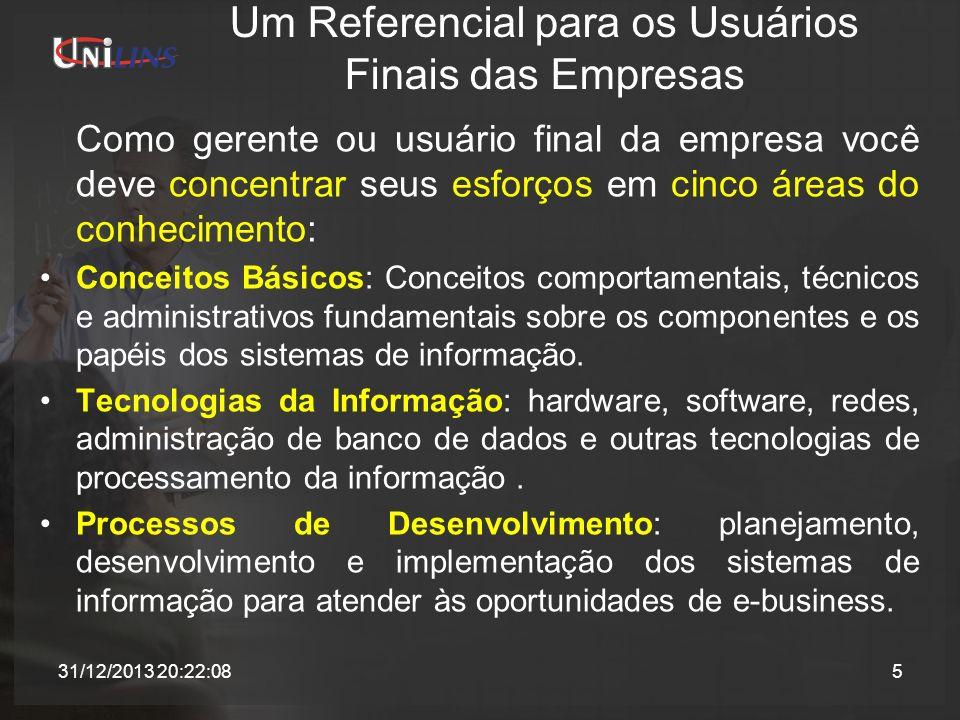 Um Referencial para os Usuários Finais das Empresas