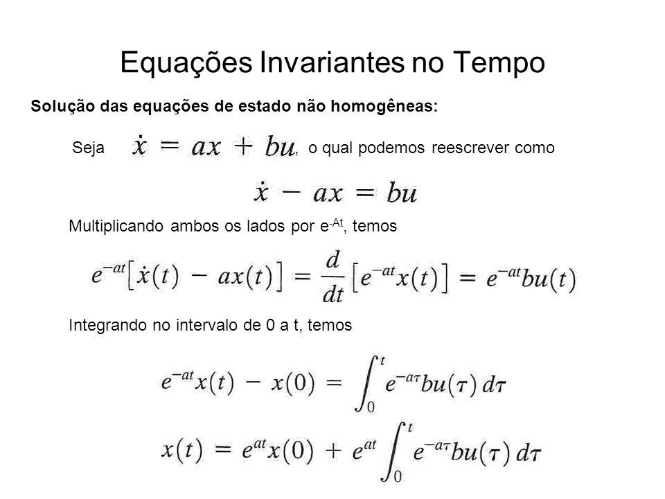 Equações Invariantes no Tempo