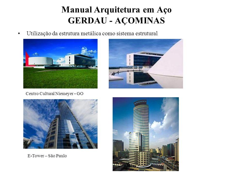 Manual Arquitetura em Aço GERDAU - AÇOMINAS