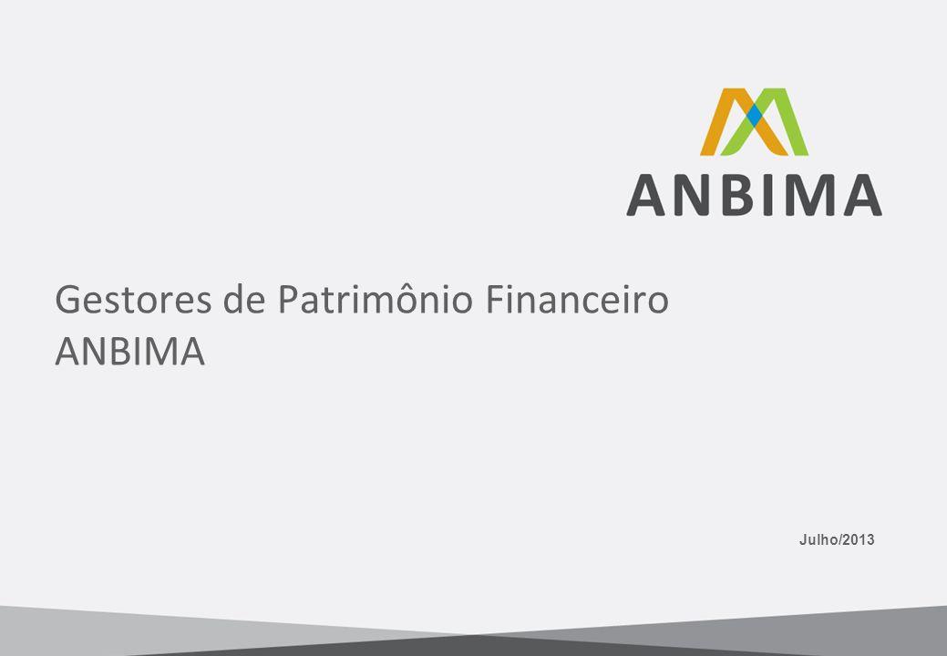 Gestores de Patrimônio Financeiro ANBIMA