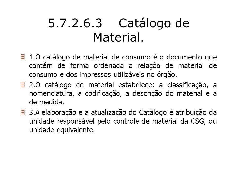 5.7.2.6.3 Catálogo de Material.
