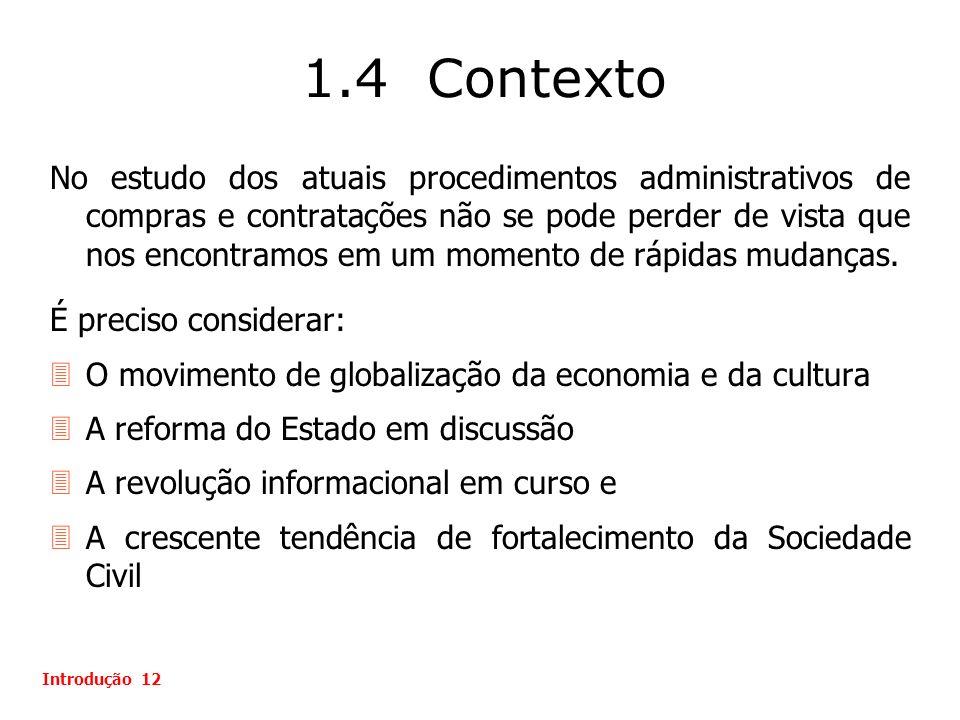 1.4 Contexto