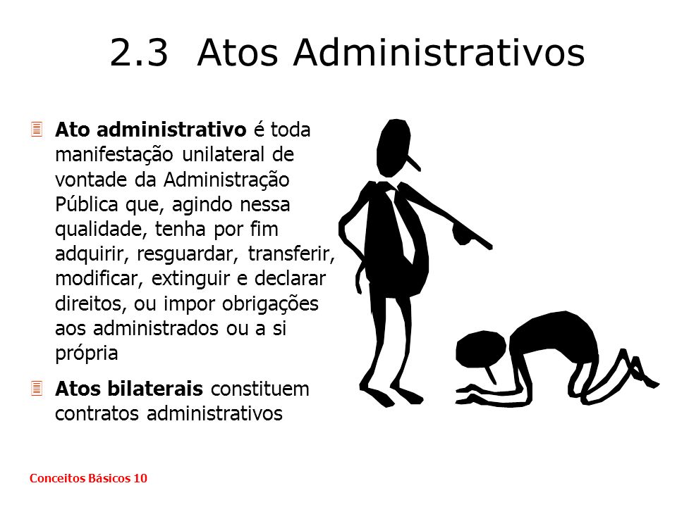 2.3 Atos Administrativos