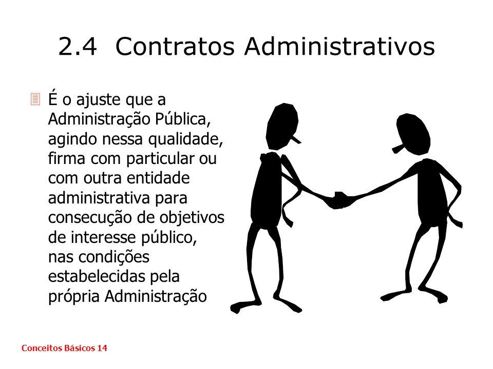 2.4 Contratos Administrativos