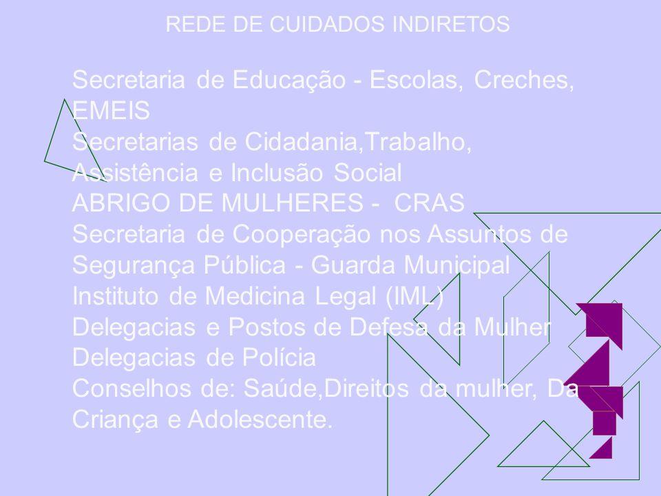 REDE DE CUIDADOS INDIRETOS