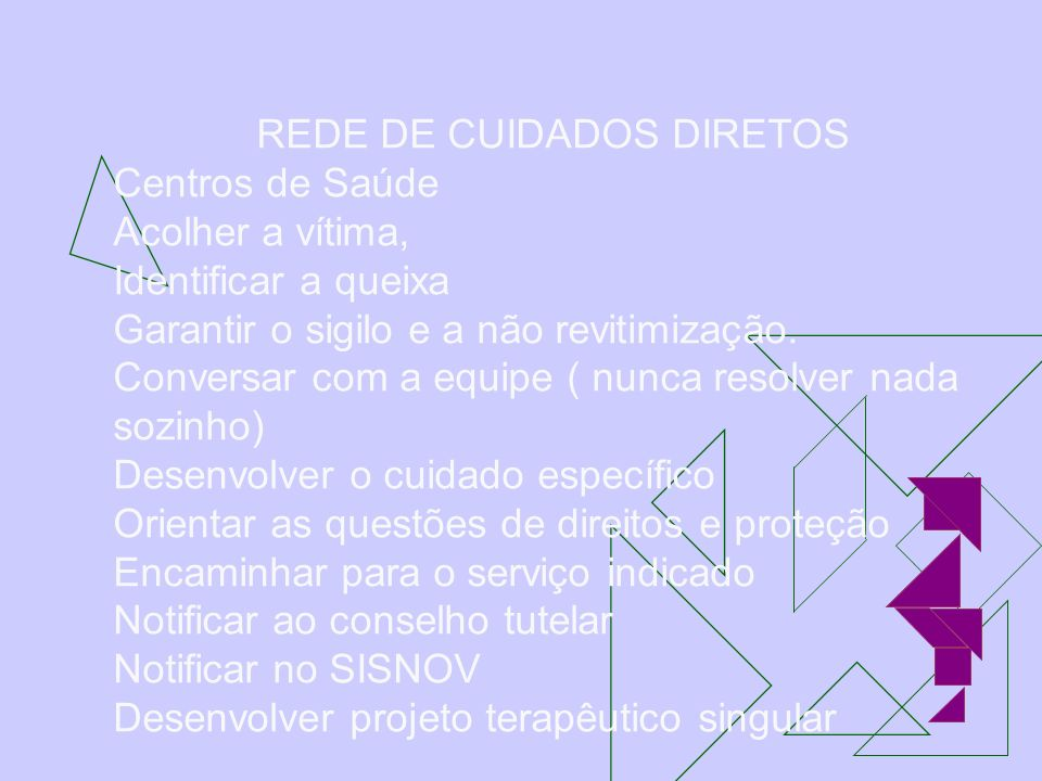 REDE DE CUIDADOS DIRETOS