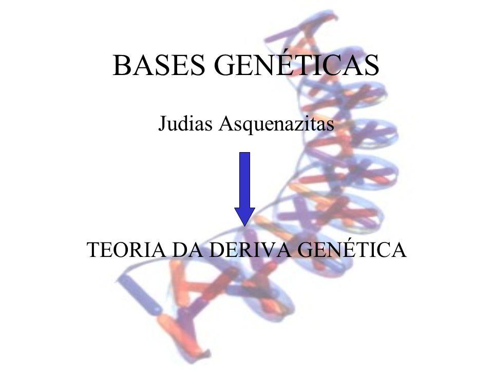 TEORIA DA DERIVA GENÉTICA
