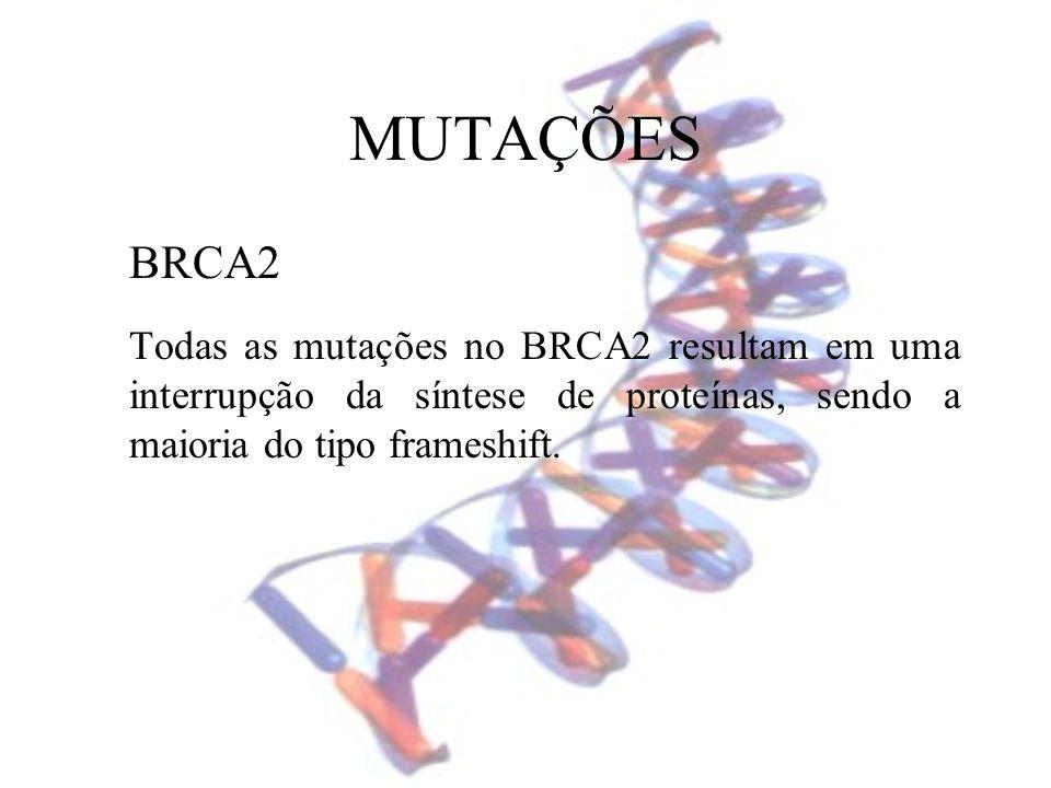 MUTAÇÕES BRCA2.