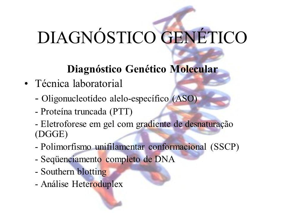 Diagnóstico Genético Molecular