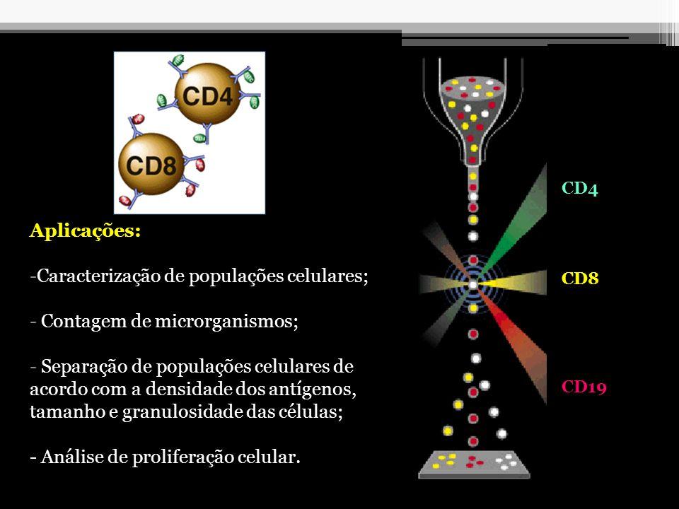 Caracterização de populações celulares; Contagem de microrganismos;