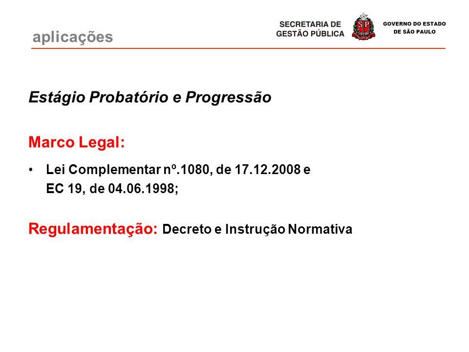 Estágio Probatório e Progressão Marco Legal: