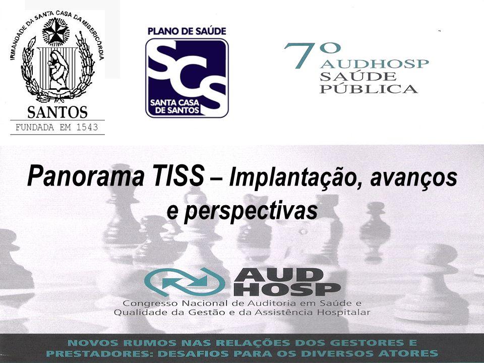 Panorama TISS – Implantação, avanços e perspectivas