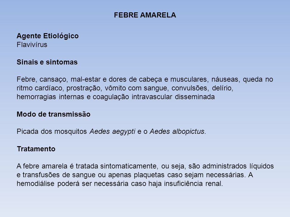 DIFTERIA FEBRE AMARELA. Agente Etiológico. Flavivírus. Sinais e sintomas.