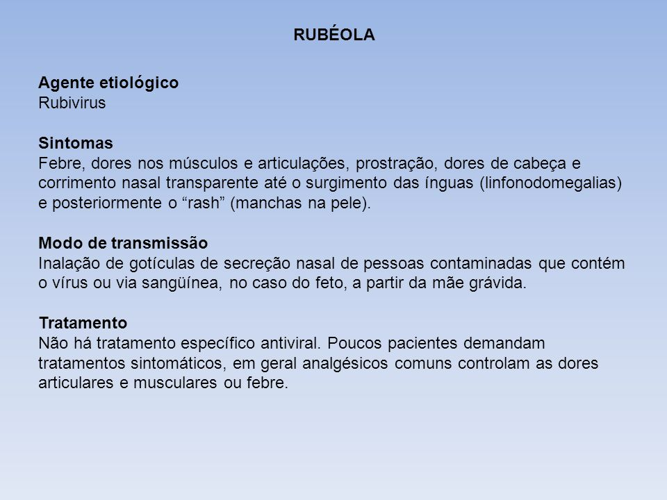 DIFTERIA RUBÉOLA. Agente etiológico Rubivirus. Sintomas.